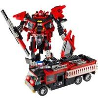 KRE-O Transformers Sentinel Prime- FIRE TRUCK