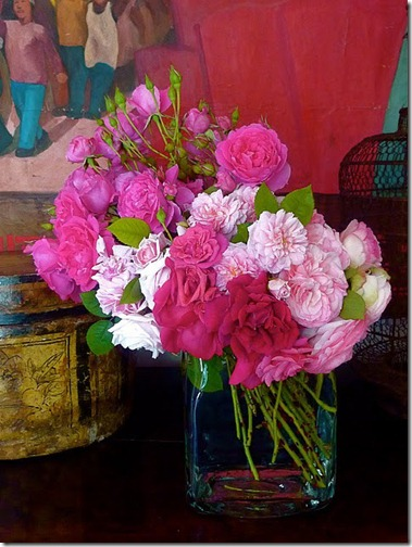 pink roses via frenchessence