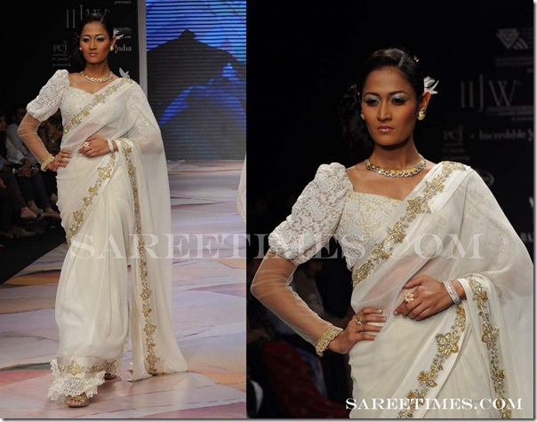 Half_White_Designer_Saree