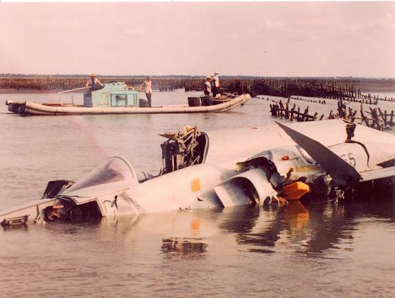 台西外海F5E墜海