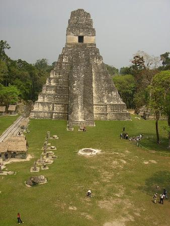 Travel to Guatemala: visit Tikal