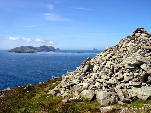 cairn on Clogher Head | Blasket Is