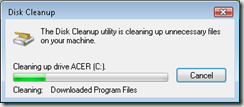 disk-cleanup-working