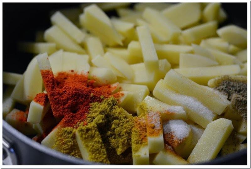 Potato Mezhukkupuratti 1