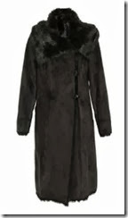 Long Faux Shearling Coat