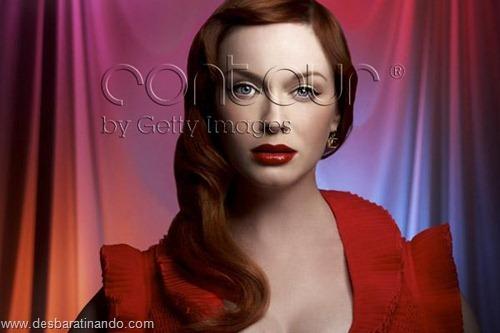 Christina Hendricks linda sensual sexy sedutora decote peito desbaratinando (37)