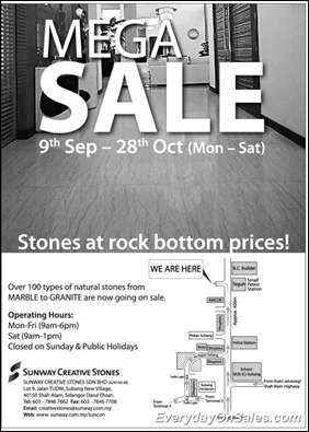 sunway-creative-stones-sales-2011-EverydayOnSales-Warehouse-Sale-Promotion-Deal-Discount