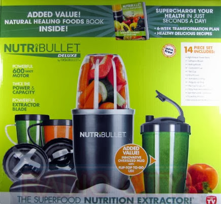 Find a best buy Nutribullet 14-Piece Nutrition Extractor 600 Watt Blender Juicer NBR-1401 Nutri Bullet