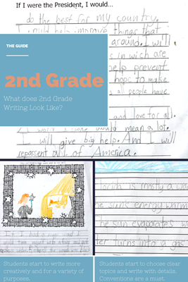 2nd Grade Writing from The Educators Spin On It