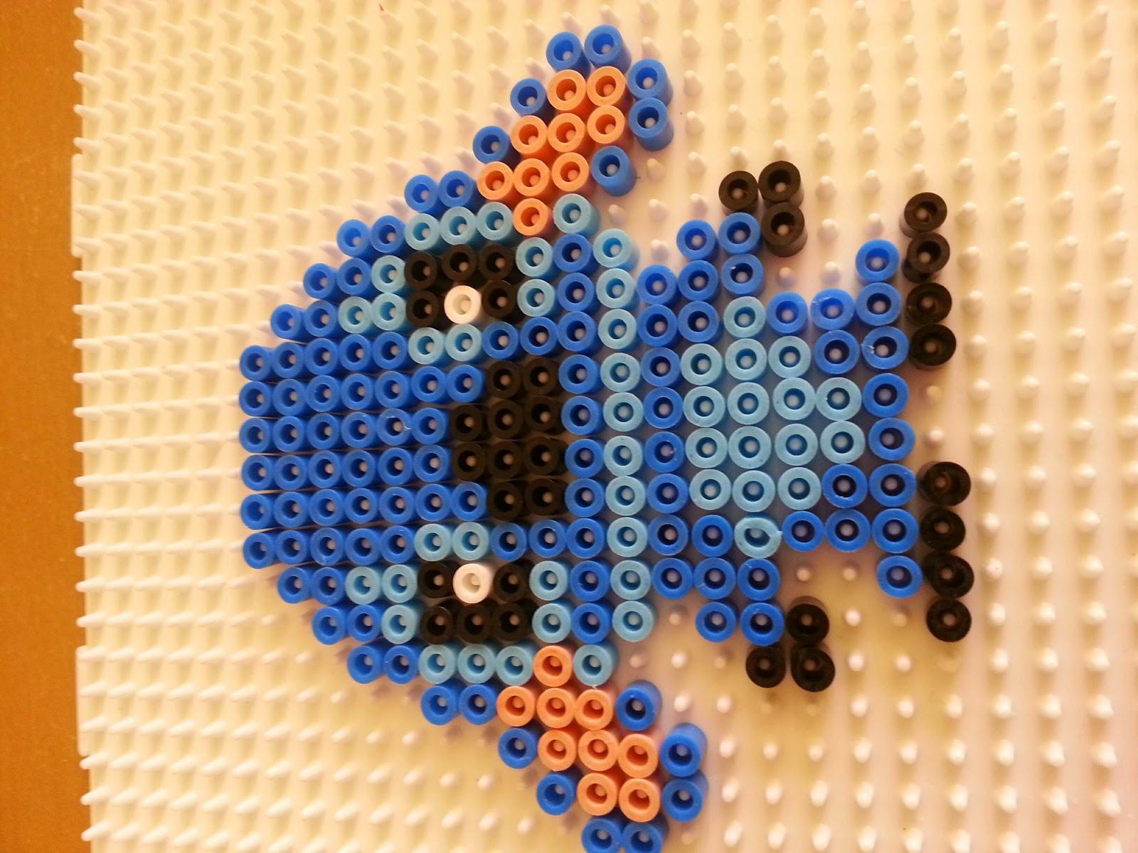 Création Manuelle Et Artistique Stitch En Perles Hama