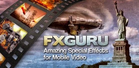 تطبيق إضافة مؤثرات خيالية للفيديو FxGuru للأندرويد
