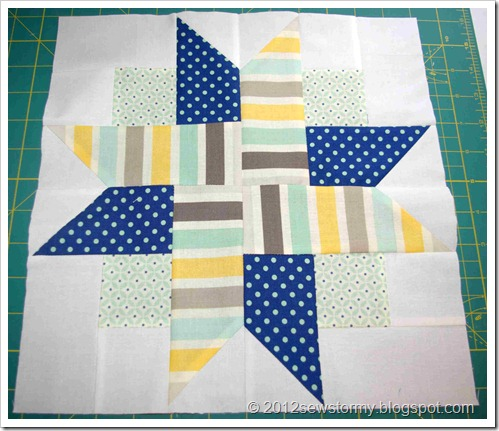 Four Patch Star Block