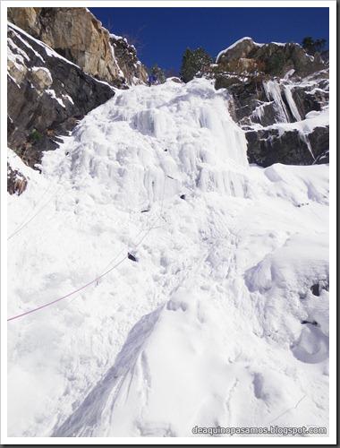 Cascada de Hielo del Parking (Balneario Panticosa, Pirineos) 7814