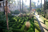 Gardens in the Alcazar