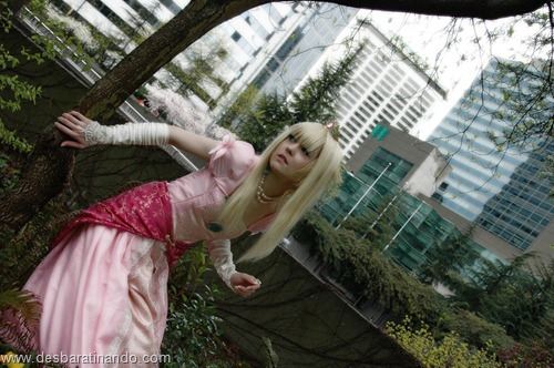 princesa peach cosplay Princess Peach cosplya desbaratianndo (7)