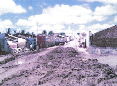 Destruição da Rua Cel Severino Bezerra (Rua do Vapor) 1981