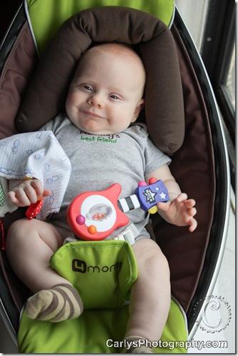 Kyton 4 months - September 22, 2011-3
