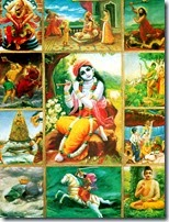 [Krishna's incarnations]