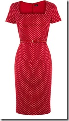 Oasis Polka Dot Shift Dress