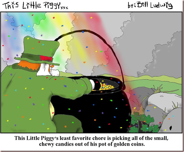 Piggy Leprechaun