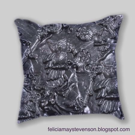 Owl steampunk cushion by felicianation on store envy