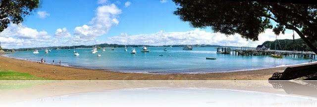 Russell Beach panorama
