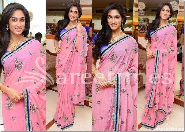 Deepthi_Pink_Saree