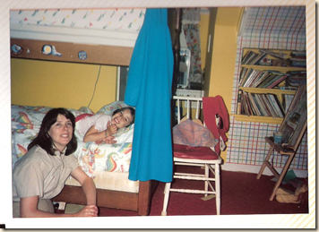 mommy and wendy by wendy's bed
