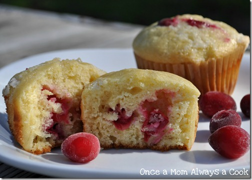 Canberry Orange Muffins