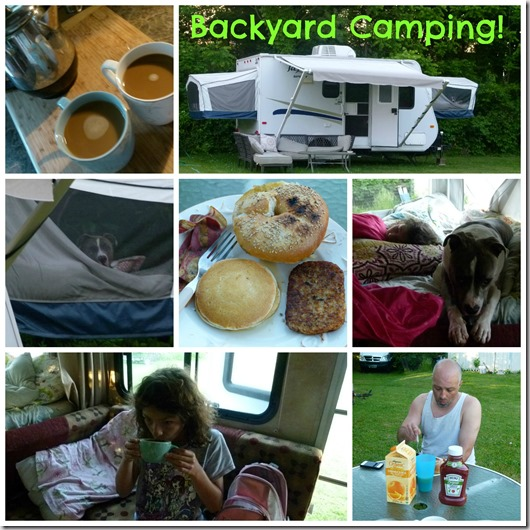 backyard camping collage1