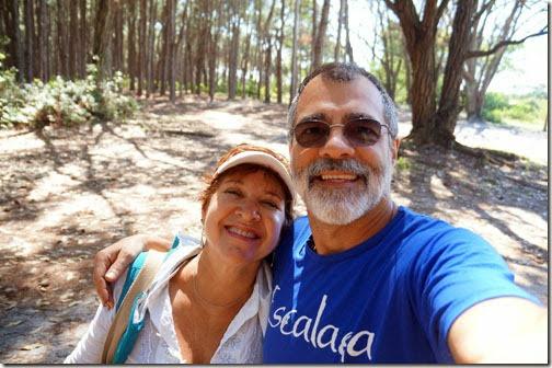 Em visita ao Camping Rio Vermelho