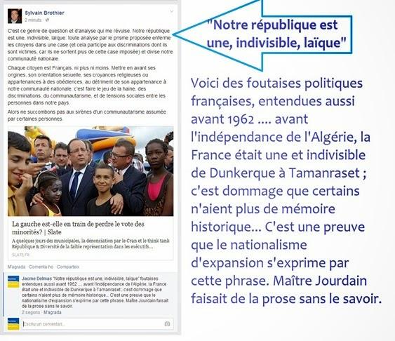 Foutaises républicaines Nacionalisme francés