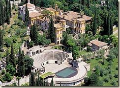 Vittoriale. maison de D'annunzio