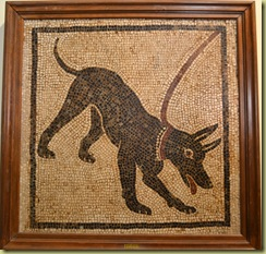 Mosaic of Dog
