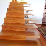 Escalera de madera en Algarrobo o Granadillo 1.JPG
