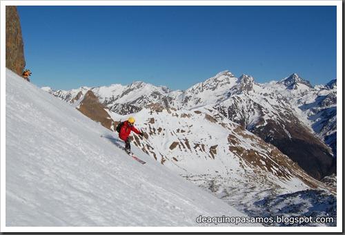 Circo Sur del Midi d'Ossau con esquis (Portalet, Pirineo Frances) (Fon) 239
