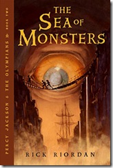 The Sea of Monster by Rick Riordan