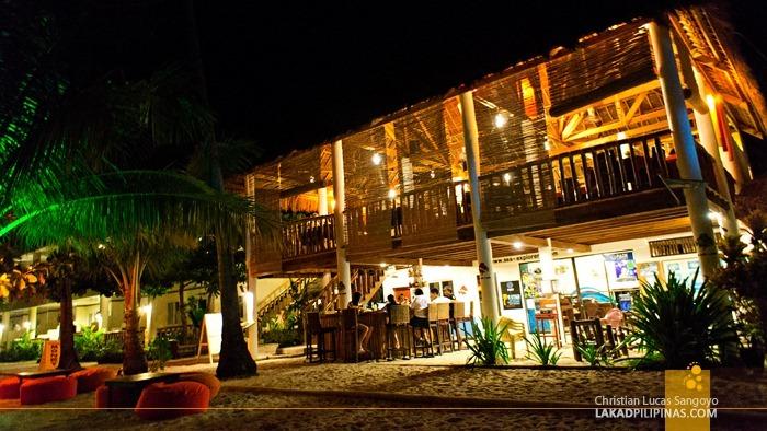 Ocean Vida Restaurant at Malapascua Island