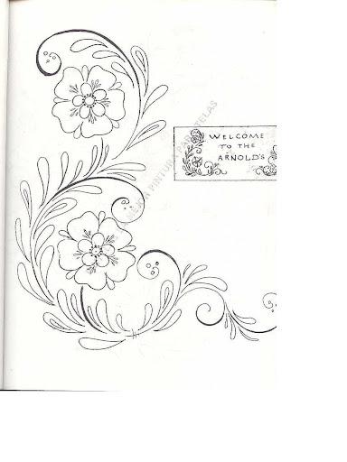 Dibujos Para Bordar Servilletas