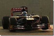Cecotto nei test di Abu Dhabi 2012