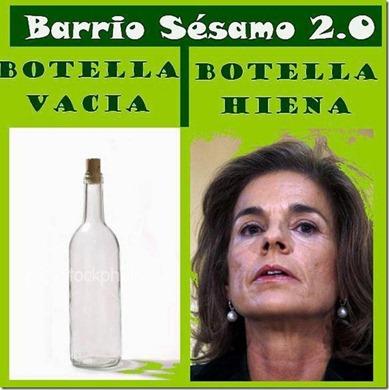 Botella hiena