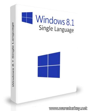 Windows 8.1 Single Language Türkçe (32-64 Bit) Full