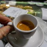real italian espresso in Milan, Milano, Italy
