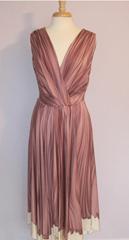 Prada L'Oeil sukienka wieczorowa Silk 44