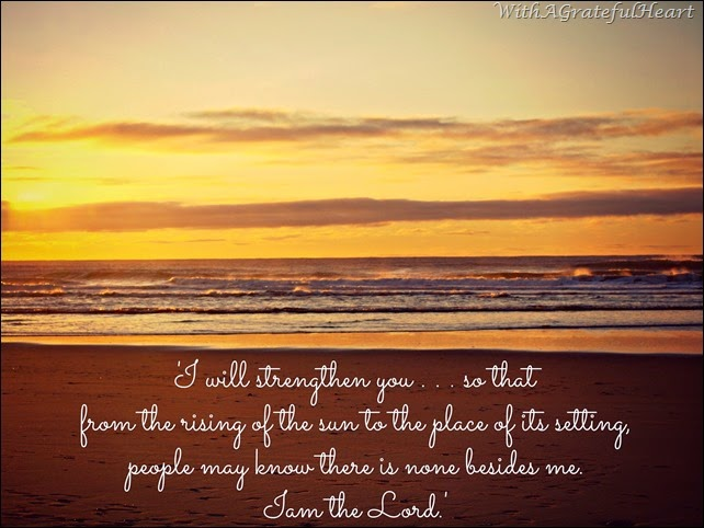 Isaiah 45 5-6