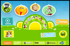 PBS KIds - Educational Websites for Kids