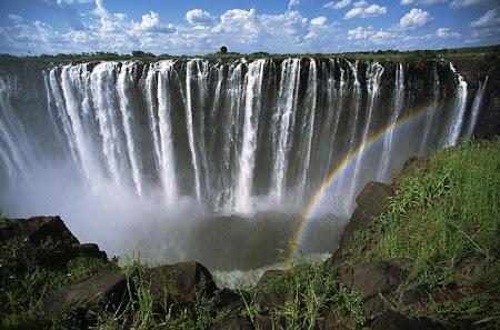 Imagini Zambia: Victoria falls