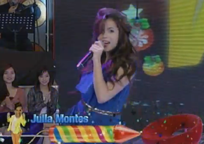 Julia Montes in Gandang Gabi Vice