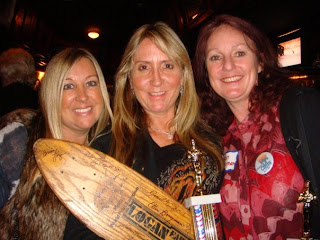 Cindy Whitehead, Laura Thornhill & Ellen Berryman at the La Costa Reunion