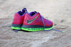 nike lebron 10 low gr purple neon green 8 03 Release Reminder: NIKE LEBRON X LOW Raspberry (579765 601)